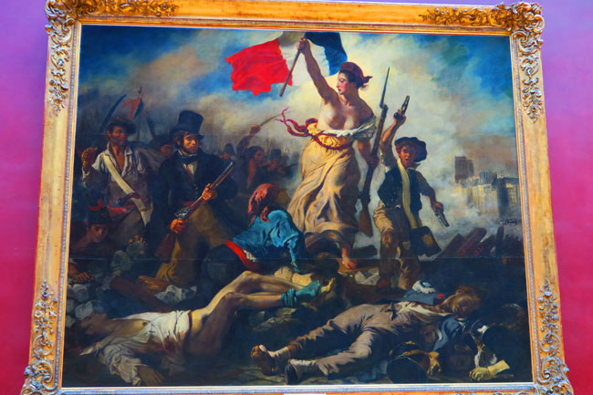 Liberty Leading the People, Eugène Delacroix Louvre