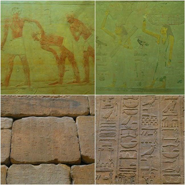 Louvre ancient egypt hieroglyphics