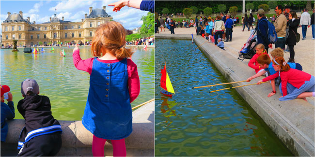 Luxembourg Garden Paris toy yachts