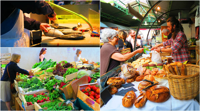 Marche des enfants rouges Paris food market