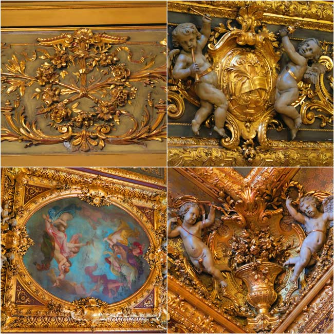 Napoleon III apartments louvre decorations