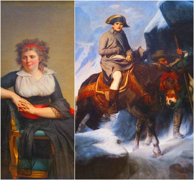 Napoleon painting louvre museum