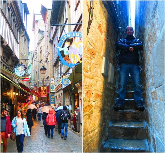 old village mont saint michel