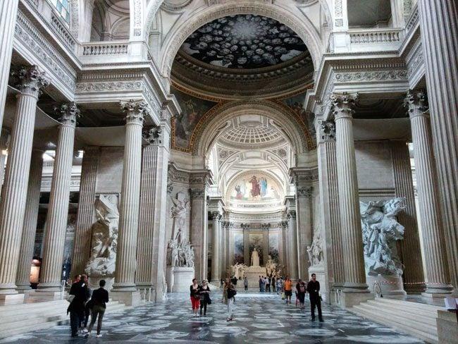 Pantheon Latin Quarter Paris Interior