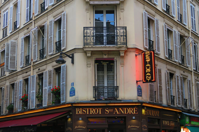 Paris bistrot saint germain