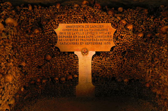 paris catacombs 1859