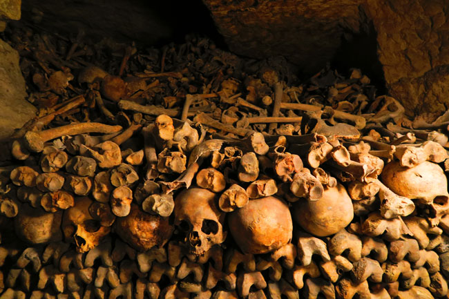 paris catacombs depth