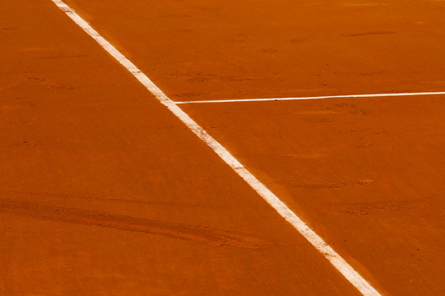 Roland Garros clay court