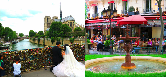 Romantic shots of Paris