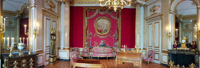 royal room panoramic view Richelieu Wing