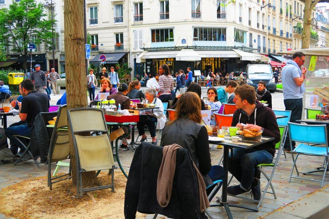 Rue-Mouffetard-latin-quarter-breakfast secret places Best Secret Places in Paris That You Absolutely Should Know rue mouffetard latin quarter breakfast