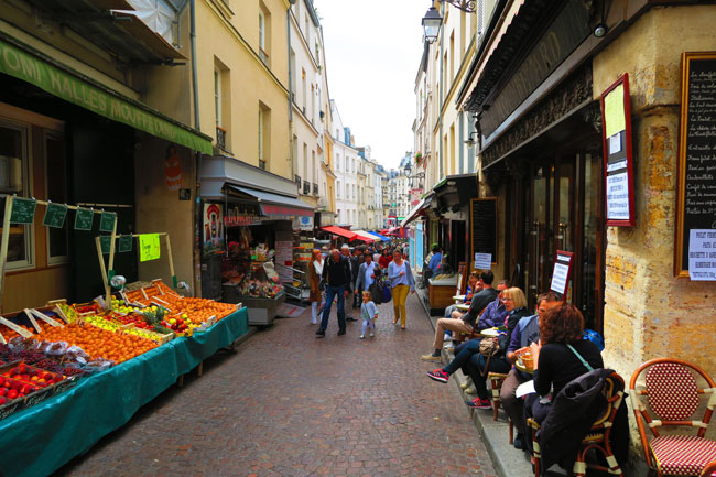 Rue Mouffetard Paris Latin Quarter
