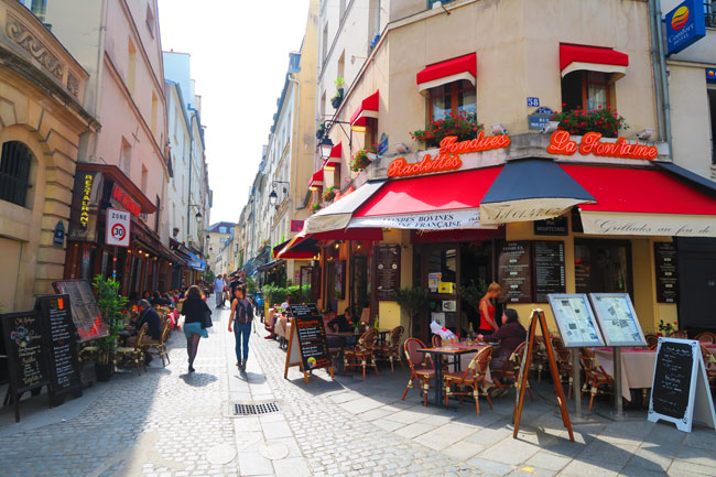 Rue Mouffetard Paris Latin Quarter Restaurant | X days in Y