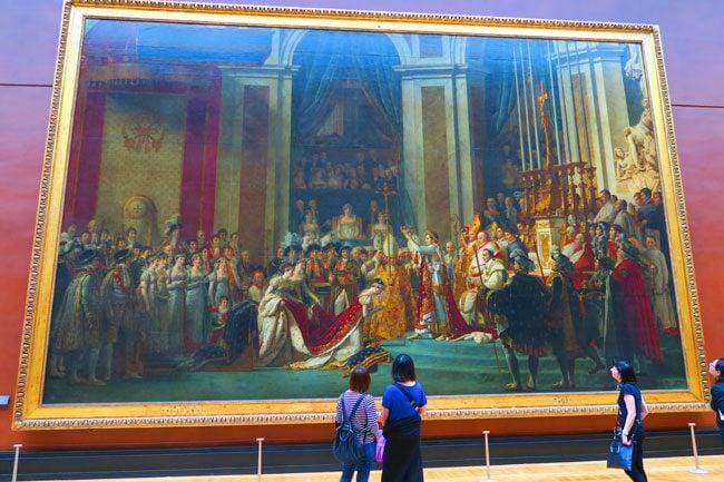 The Coronation of Napoleon louvre museum