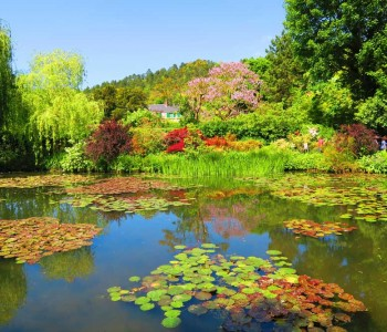 Visiting Monet's Garden in Giverny