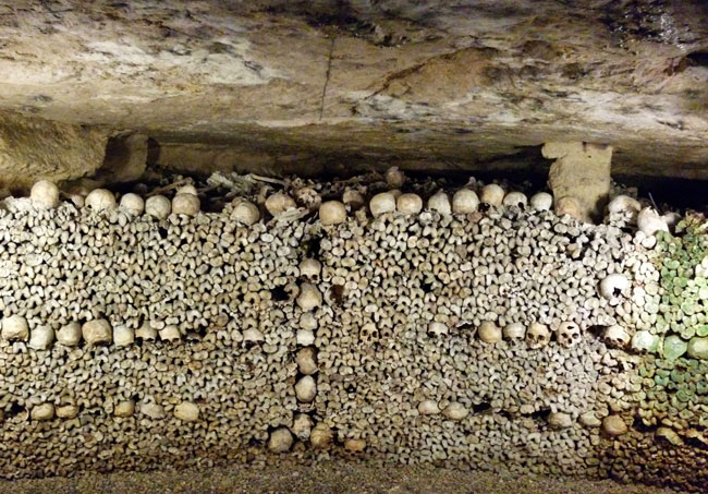 Visiting the Catacombs - cover photo panoramic