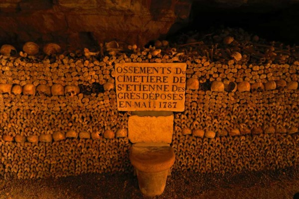 visiting the paris catacombs - cover photo