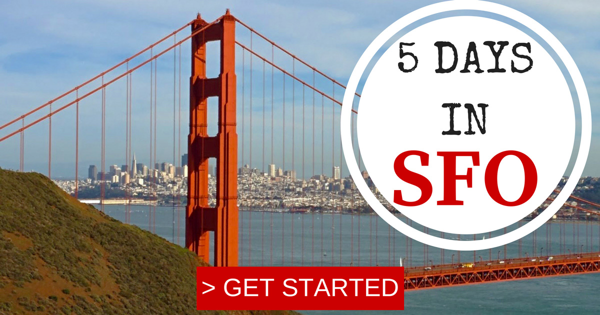 5-Days-In-San-Francisco