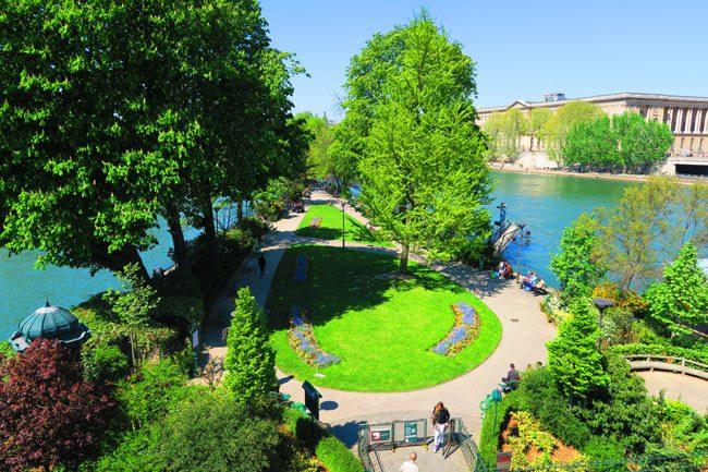 Square du Vert Galant - Île de la Cité Paris Park
