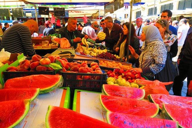 aligre market bastill watermelon