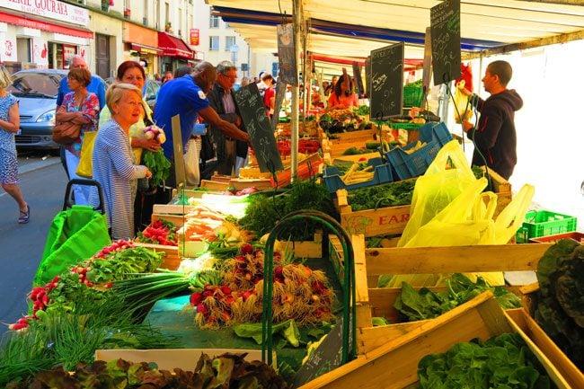 aligre market vegetables