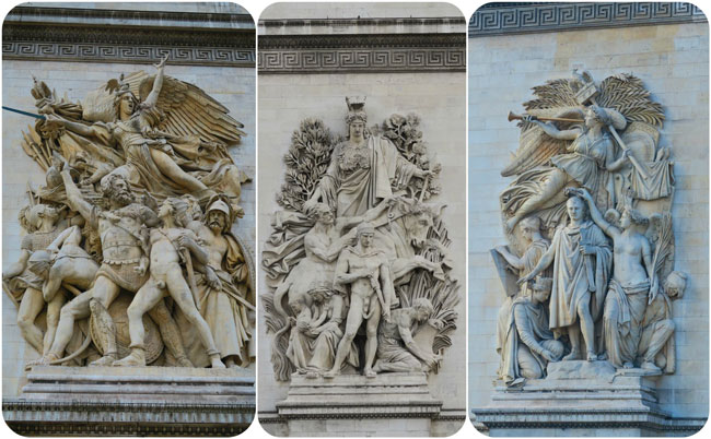 Arc de Triomphe Paris decorations