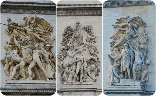 Arc de Triomphe Paris decorations