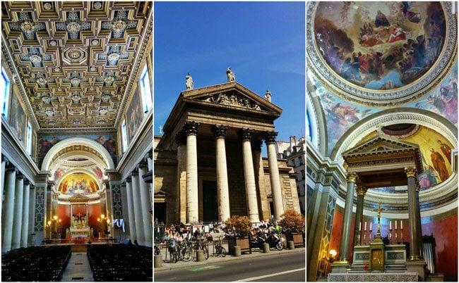 The best cathedrals in paris beautiful parisian churches - Metro notre dame de lorette ...