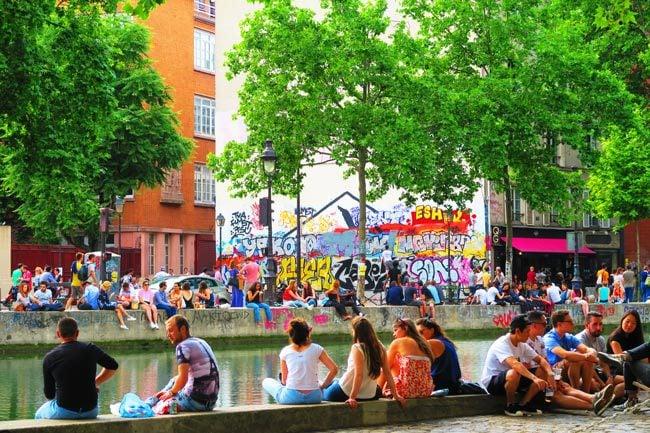 canal saint martin paris locals