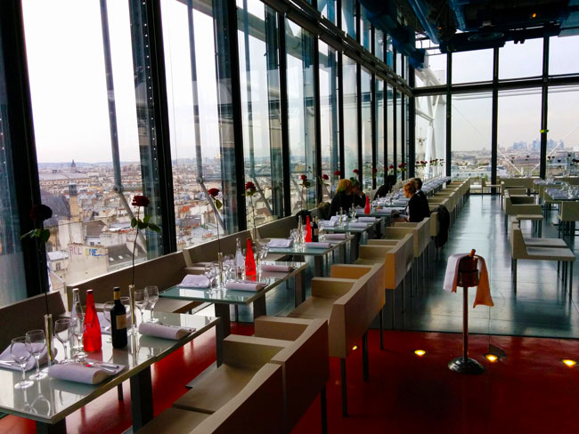 Georges Restaurant Pompidou Center Paris