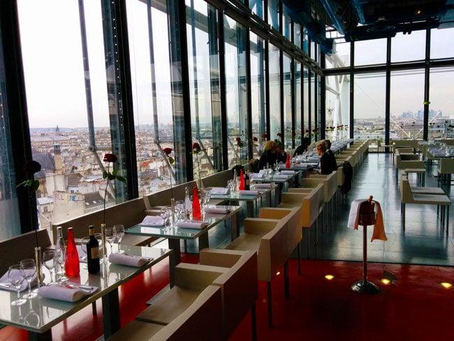 Georges Restaurant Pompidou Center Paris