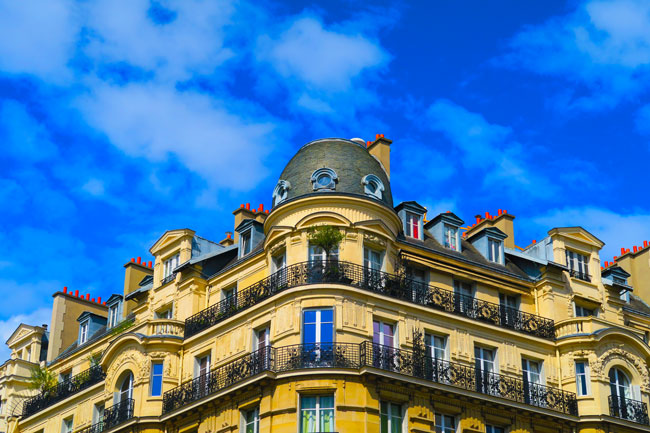 Haussmann Building Paris