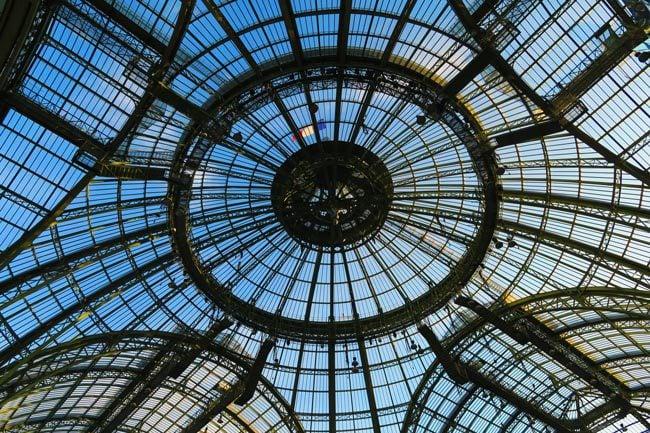 Inside Grand Palais Paris