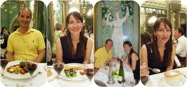 La Fermette Marbeuf romantic dinner Paris