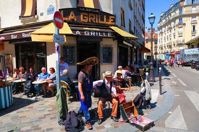la grille aligre market bastille paris