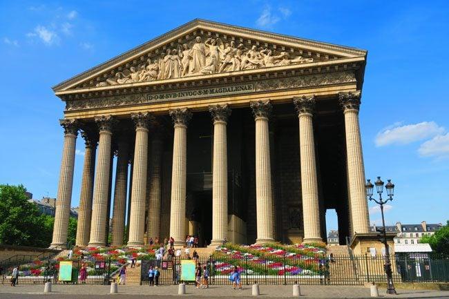la Madeleine Church Paris