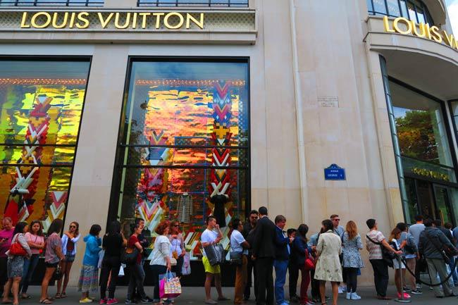 Louis Vuitton champs elysees paris