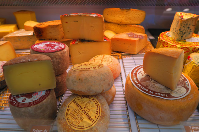 marche aligre bastille paris Marché Beauvau indoor market cheese
