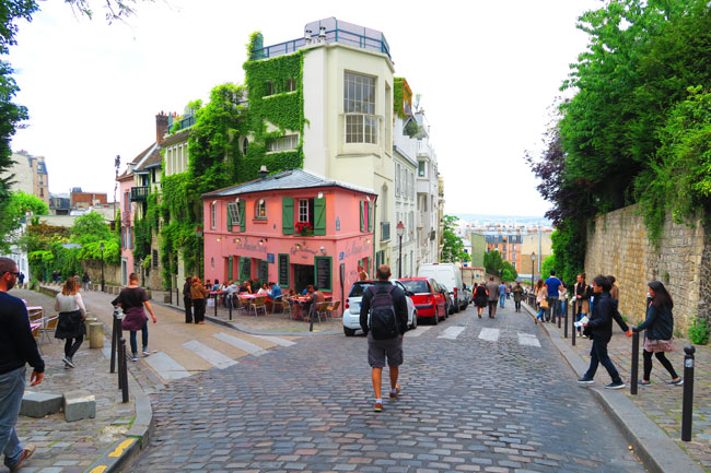 Monmartre vinyards Paris