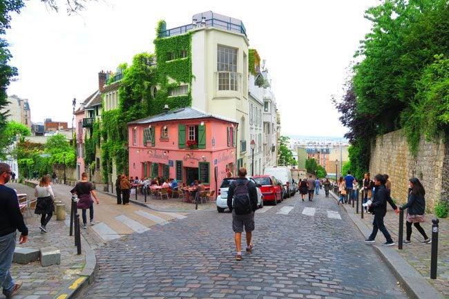 Monmartre vinyards Paris