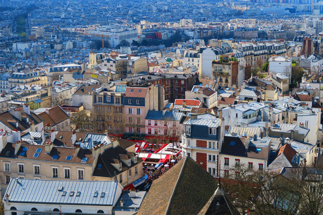 Montmartre from Sacre Coeur