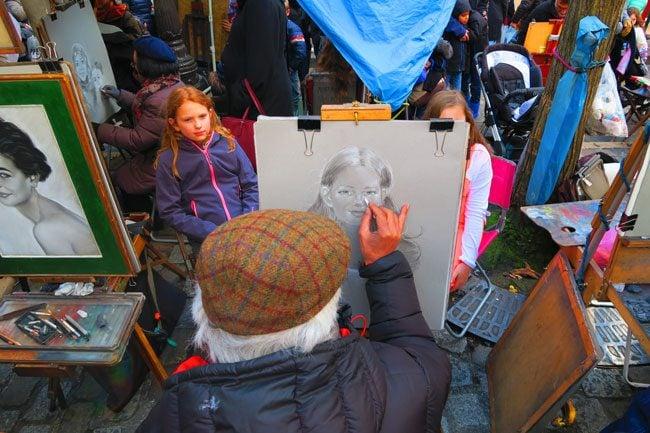 Montmartre Paris Place du Tertre 2