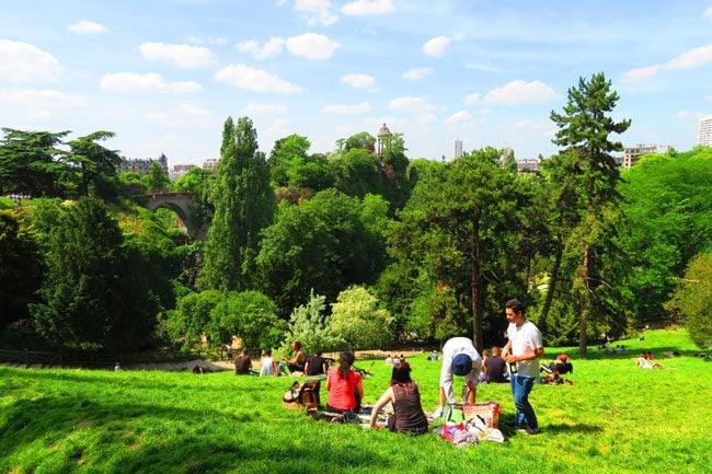 Parc des Buttes-Chaumont paris
