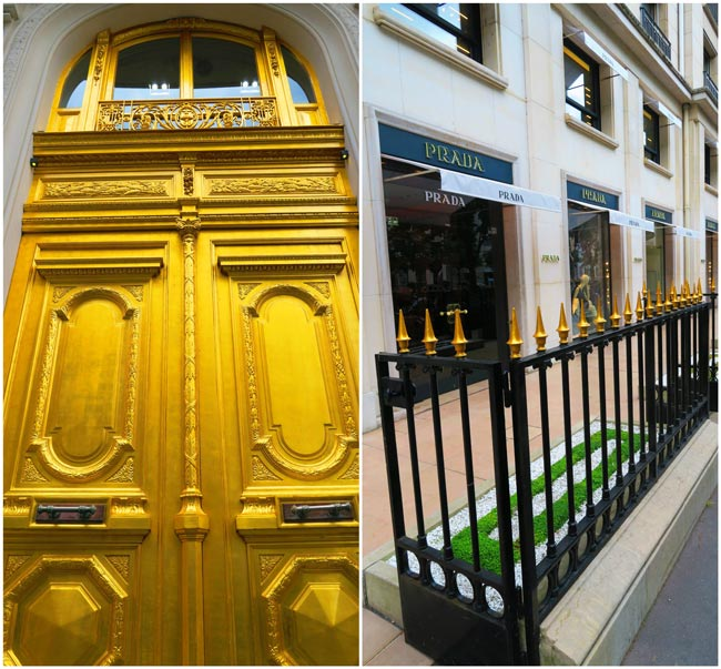paris golden triangle luxury boutique