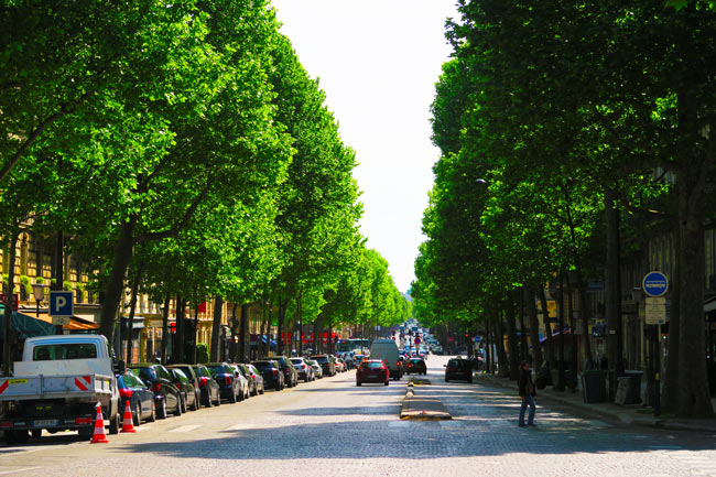 Paris Grands Boulevards Itinerary