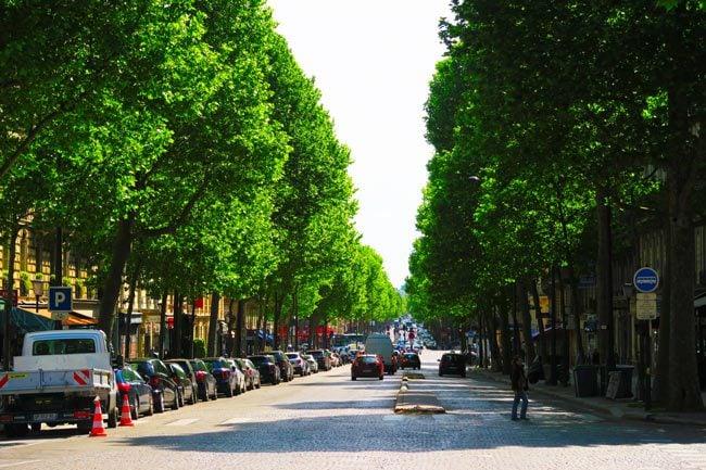 Paris Grands Boulevards Itinerary