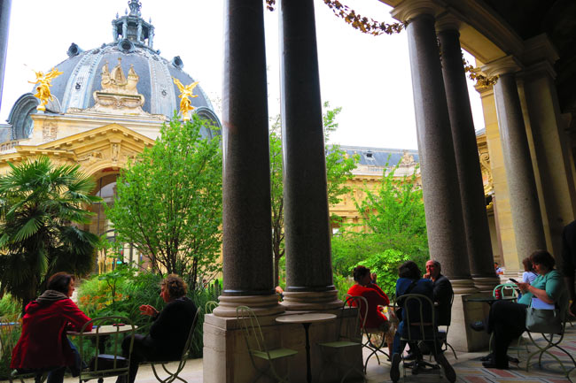 Petit Palais Cafe Paris