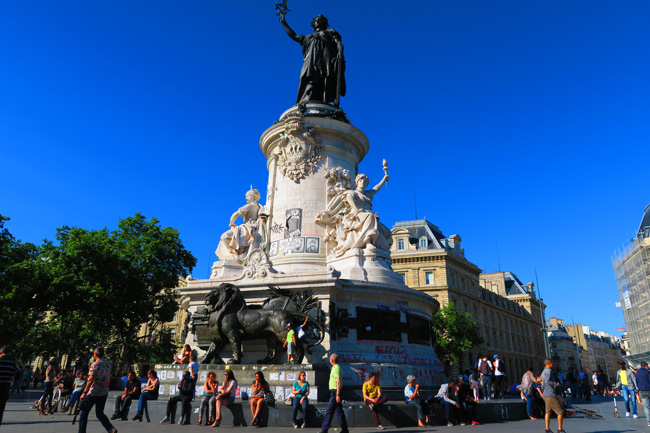 Place de la Republique paris
