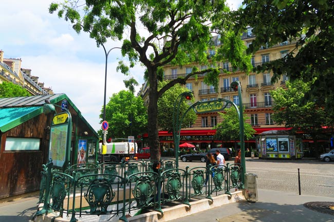 Place des Ternes paris