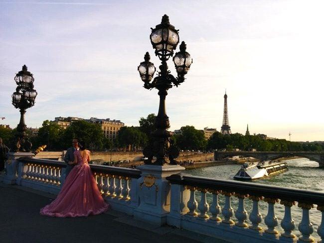 Pont Alexandre Romantic Paris Alexander Bridge